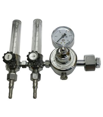 Регулятор расхода газа PTK У30-АР40 с 2-мя ротаметрами